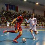 Futsalisté v baráži těsně vyhráli nad Běloruskem