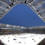 Druholigové Drážďany hostily hokej pod širým nebem před 32 tisíci diváky
