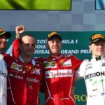 V Melbourne vítězí Ferrari Sebastiana Vettela!
