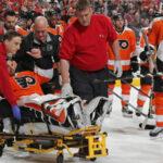 Neuvirth během zápasu NHL náhle omdlel! Byl odvezen do nemocnice+VIDEO