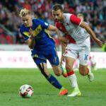 Slavia vstoupila do předkola Ligy mistrů vítězstvím nad Borisovem
