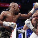 Boxerská show v Las Vegas skončila. Králem je Maywether, který McGregora ukončil až v 10.kole