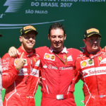 Sebastian Vettel triumfoval v Brazílii, jistý šampion Hamilton se na pódium nedostal